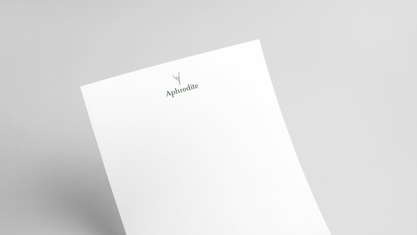 Aphrodite婚紗品牌VI形象設計欣賞-深圳VI設計3
