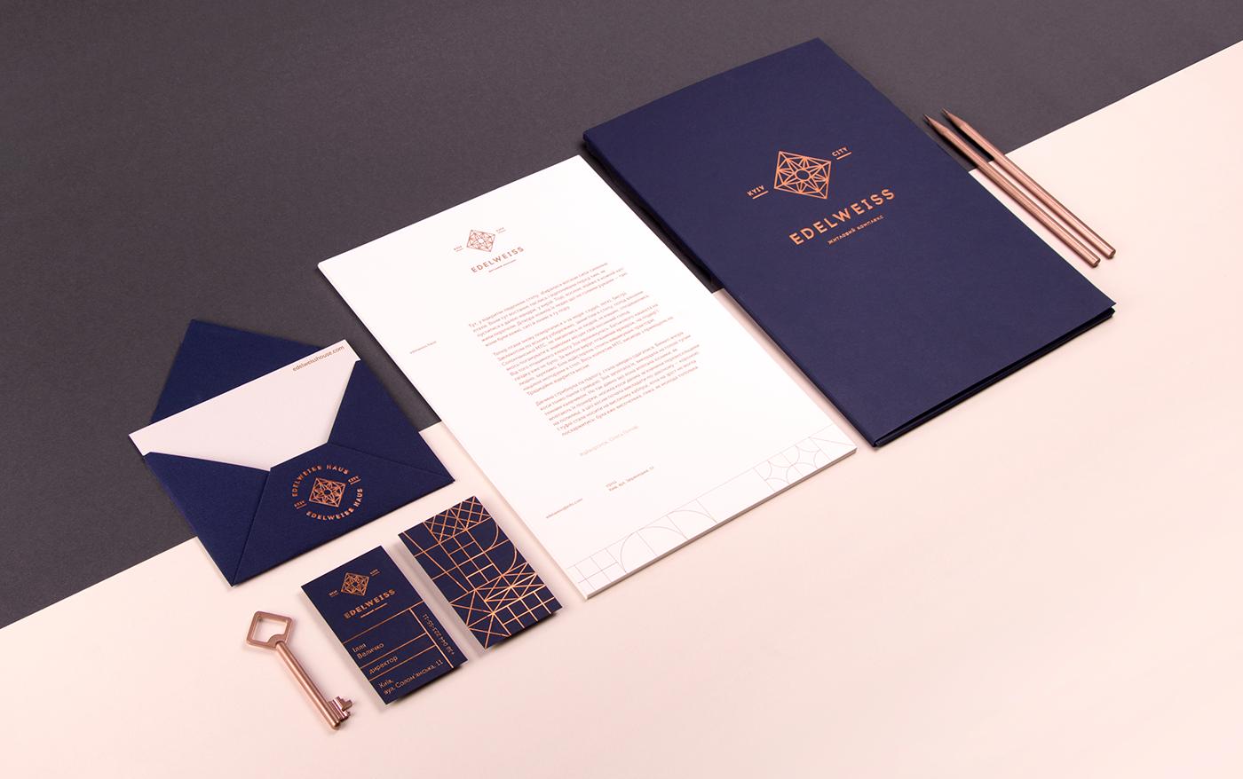 Edelweiss House雪絨之家品牌視覺VIS設計欣賞-深圳VI設計2