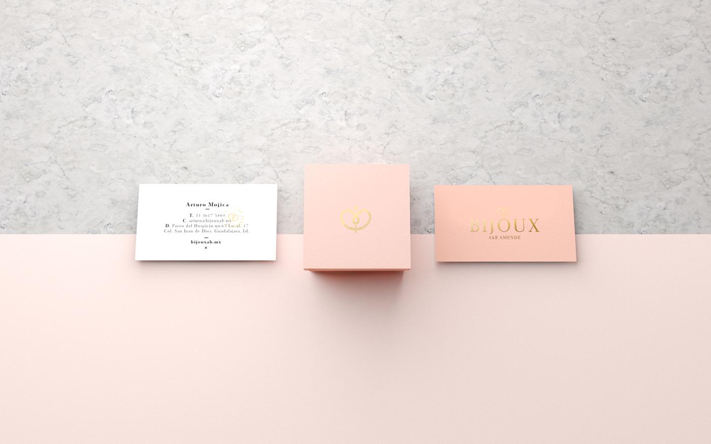 Bijoux珠寶品牌視覺形象設計欣賞-深圳VI設計3
