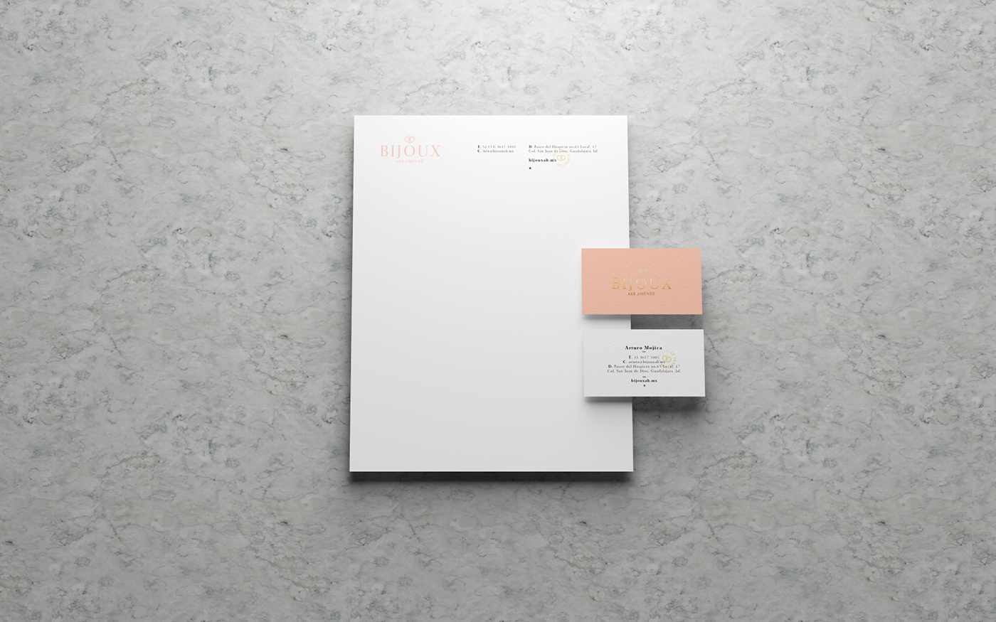 Bijoux珠寶品牌視覺形象設計欣賞-深圳VI設計4