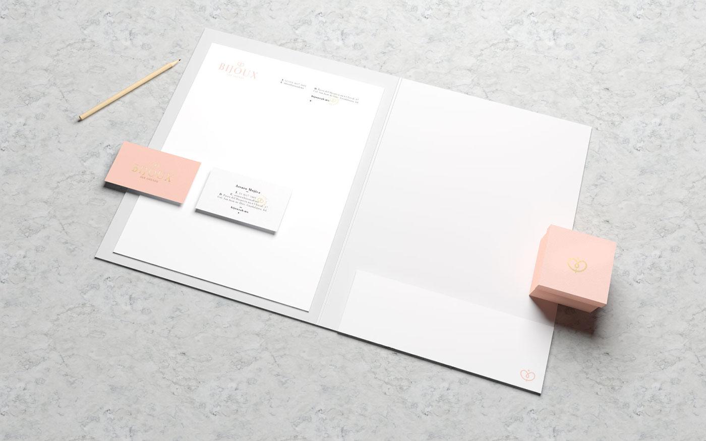 Bijoux珠寶品牌視覺形象設計欣賞-深圳VI設計7