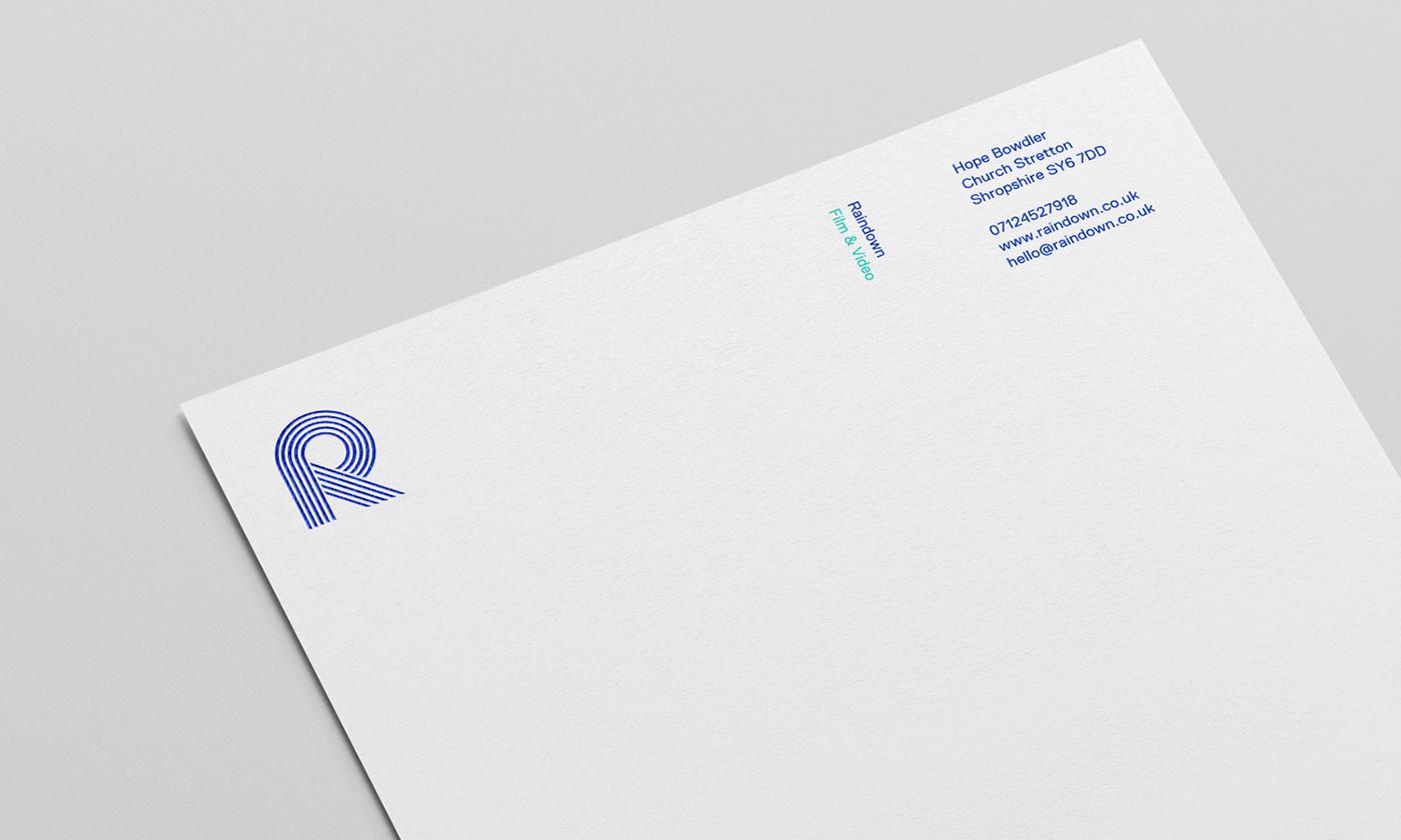 Raindown 品牌VIS视觉形象设计欣赏-深圳VI设计4