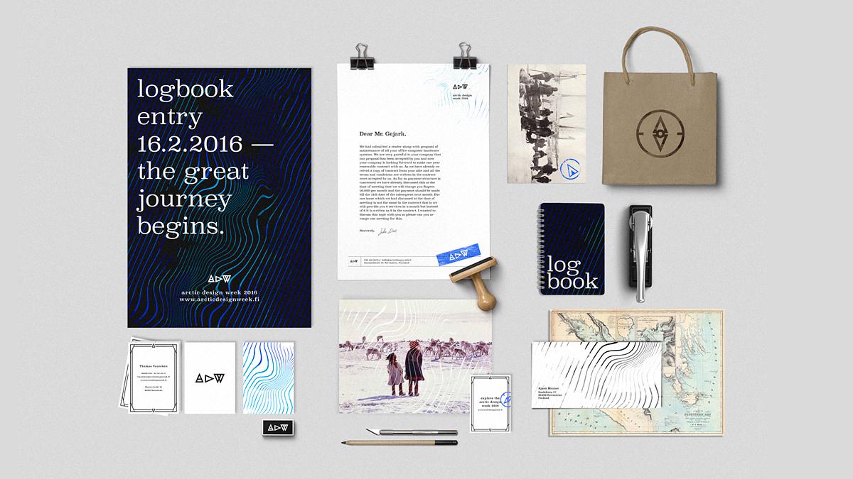 Arctic设计周活动视觉形象设计欣赏-深圳VI设计公司5