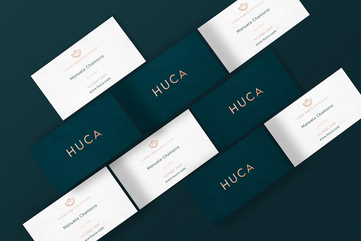 哥伦比亚Huca品牌VI形象设计欣赏-深圳VI设计4