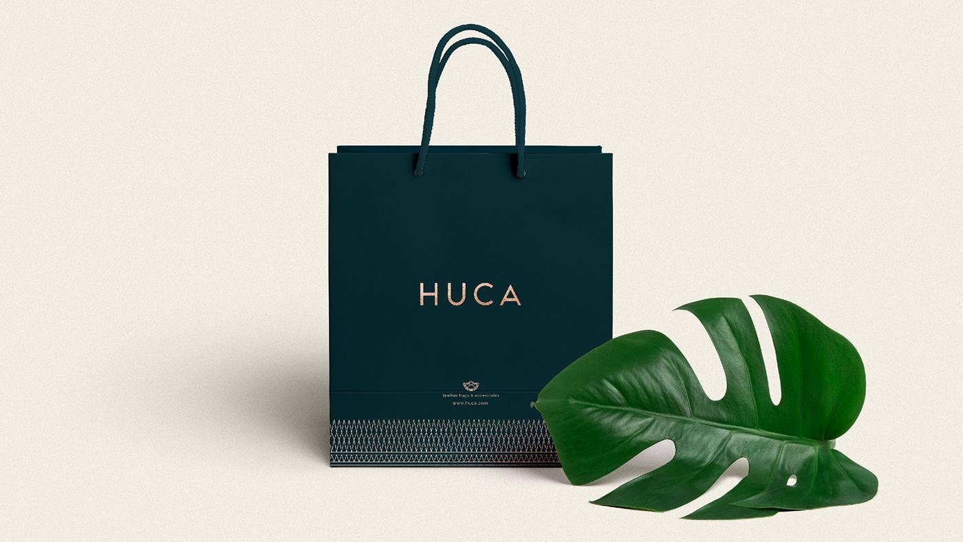 哥伦比亚Huca品牌VI形象设计欣赏-深圳VI设计5