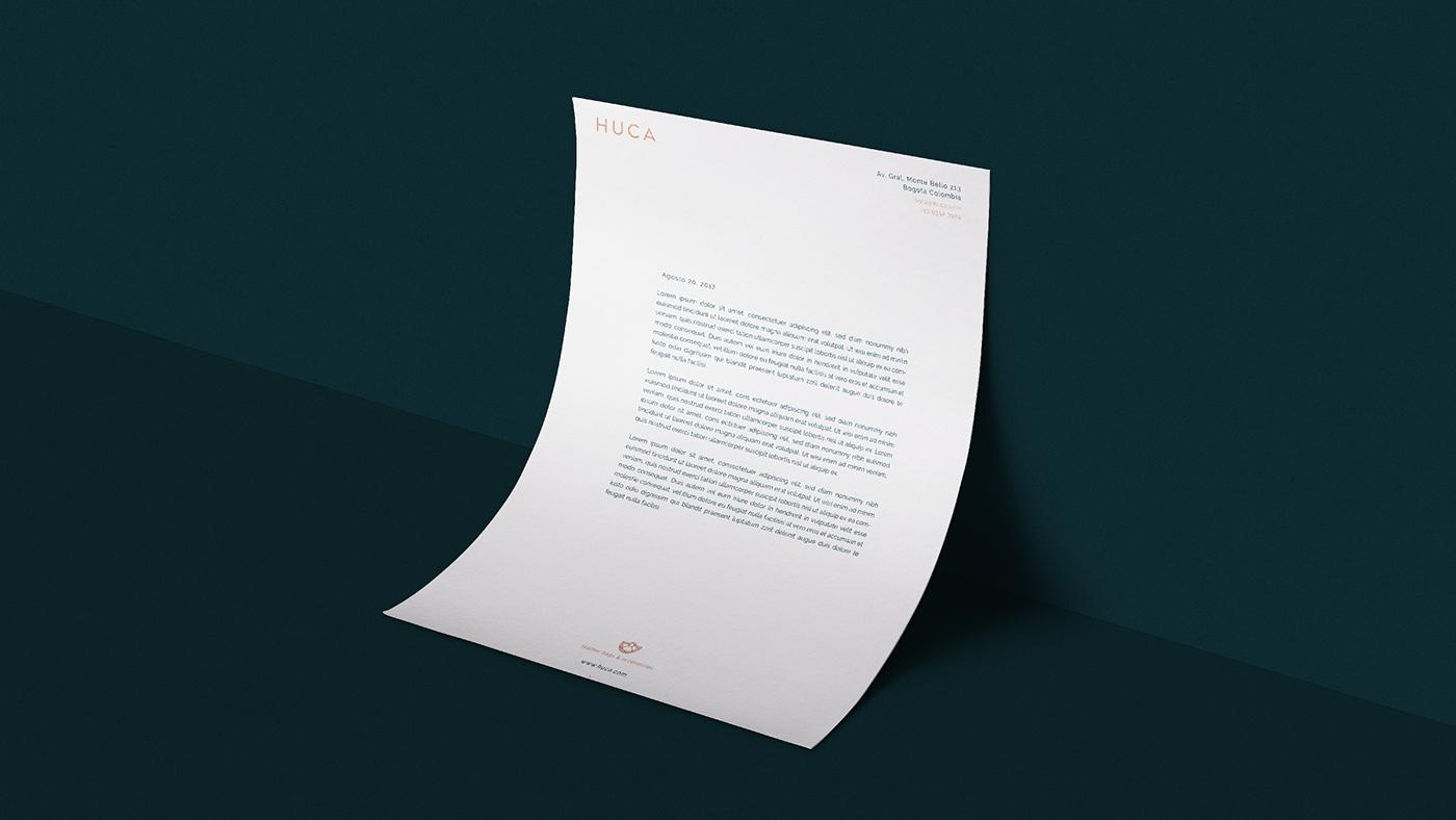 哥伦比亚Huca品牌VI形象设计欣赏-深圳VI设计6