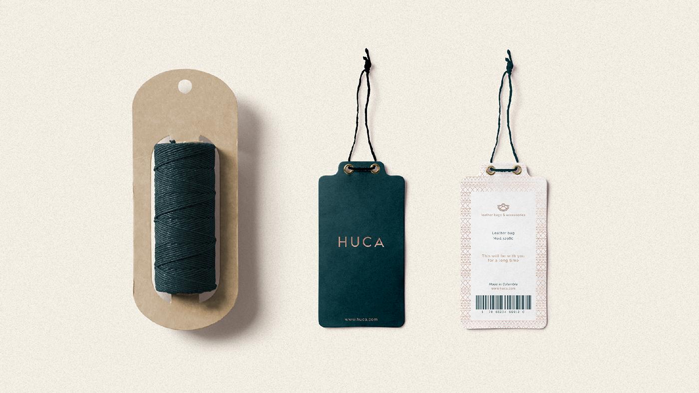 哥伦比亚Huca品牌VI形象设计欣赏-深圳VI设计7