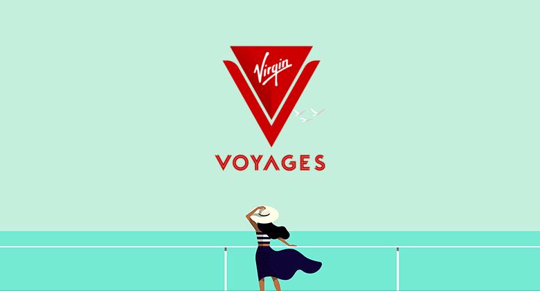 维珍集团的首艘豪华邮轮公布全新的LOGO形象-深圳VI设计1