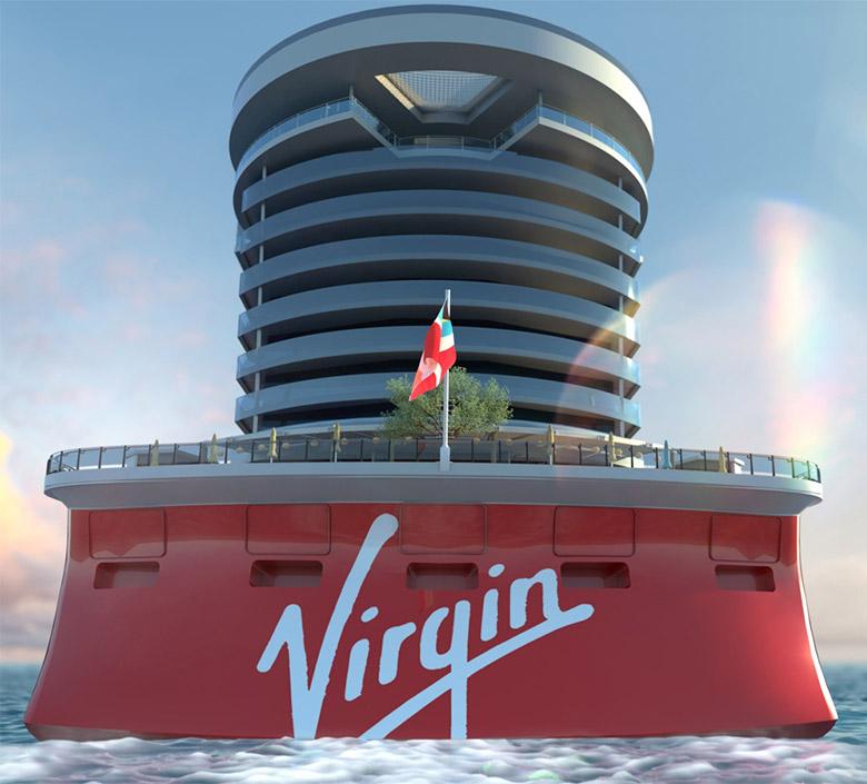 维珍集团的首艘豪华邮轮公布全新的LOGO形象-深圳VI设计6