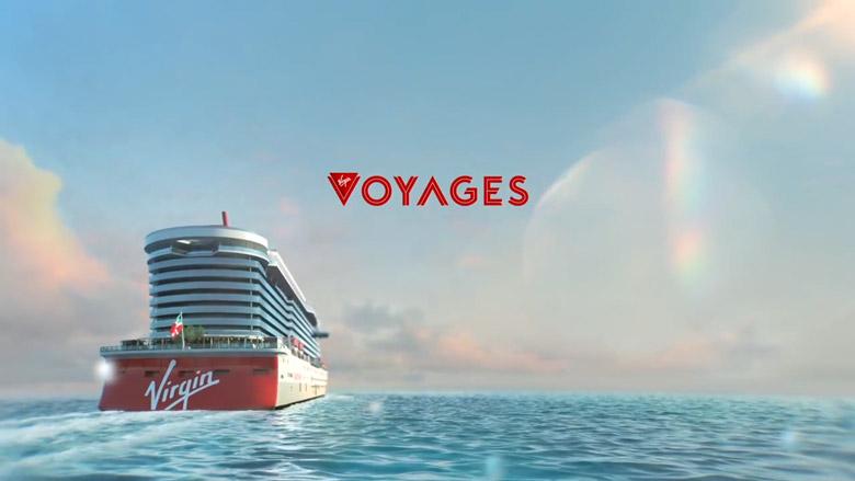 维珍集团的首艘豪华邮轮公布全新的LOGO形象-深圳VI设计