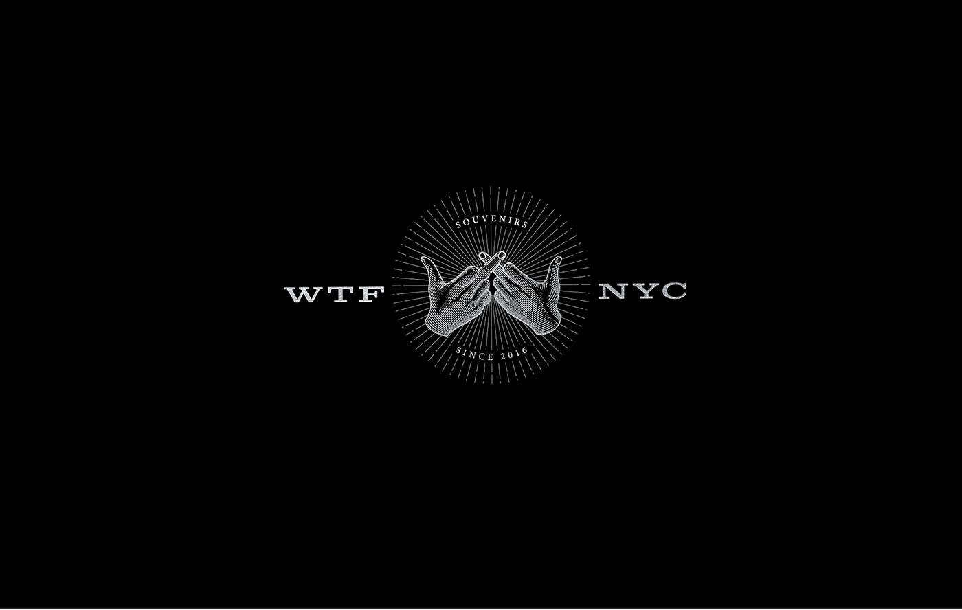 WTF 纽约纪念品品牌VIS形象设计欣赏-深圳VI设计1