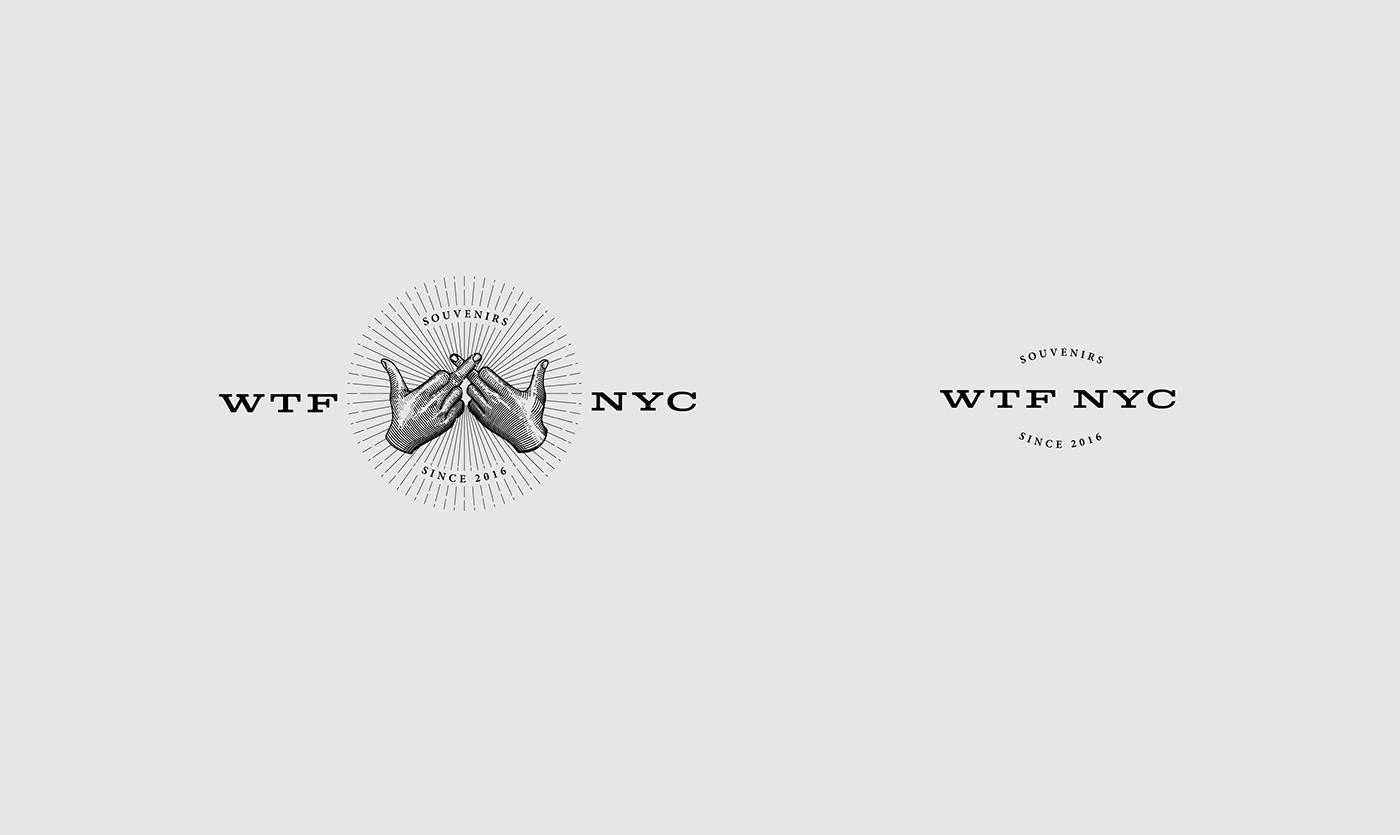 WTF 纽约纪念品品牌VIS形象设计欣赏-深圳VI设计2