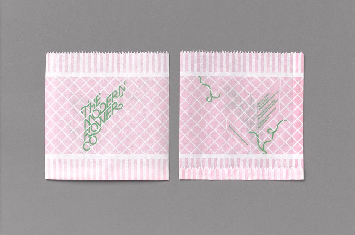 The Modern Flower Co.现代花卉公司品牌VI形象设计欣赏-深圳VI设计6