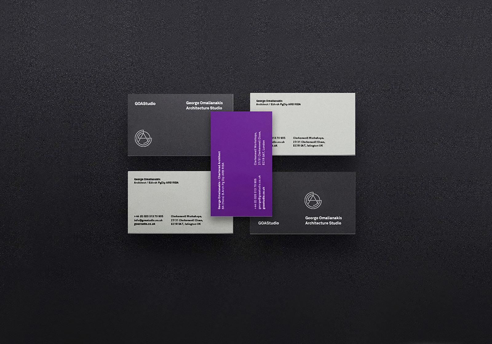 GOAS工作室品牌视觉VI形象设计欣赏-深圳VI设计3