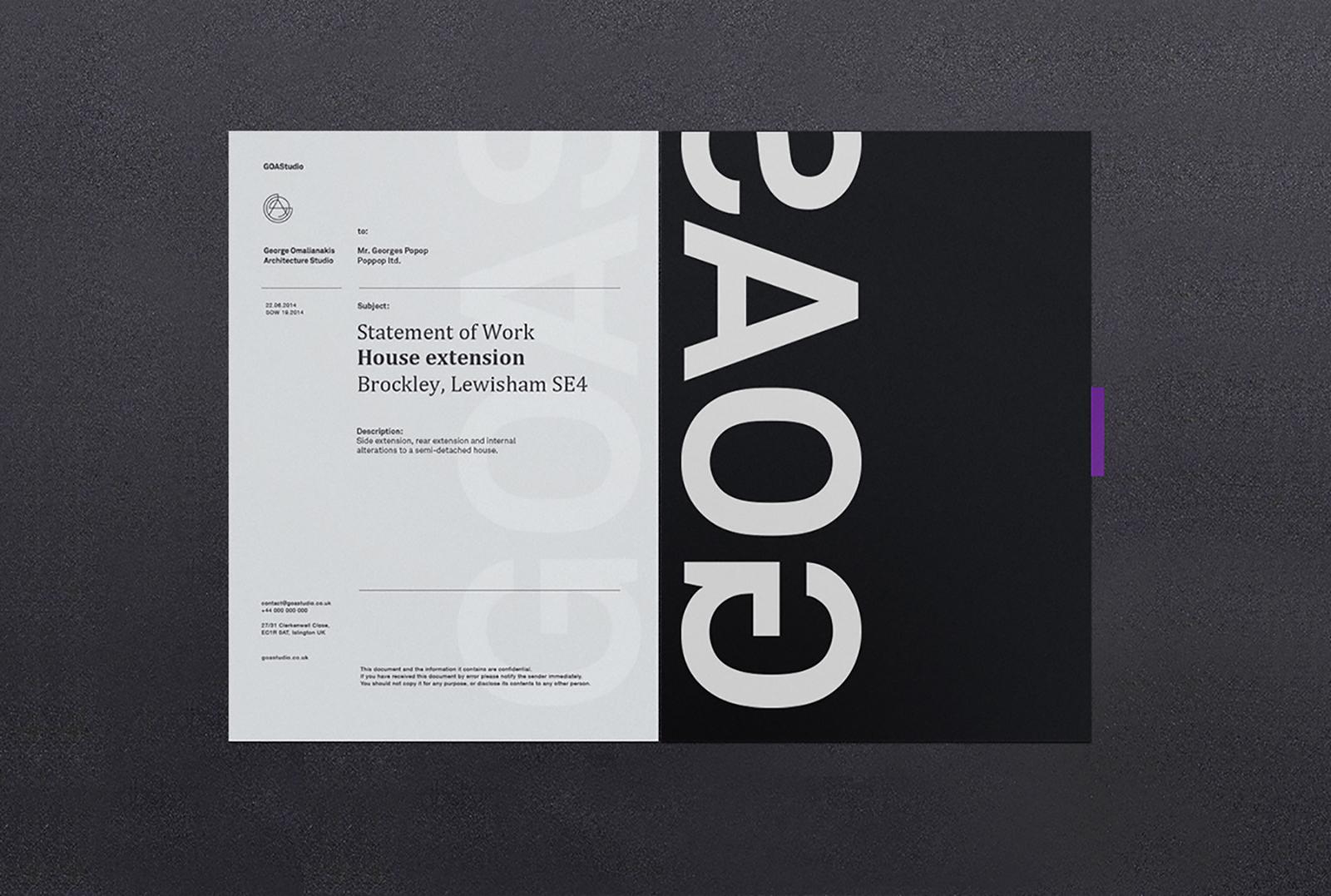GOAS工作室品牌视觉VI形象设计欣赏-深圳VI设计4