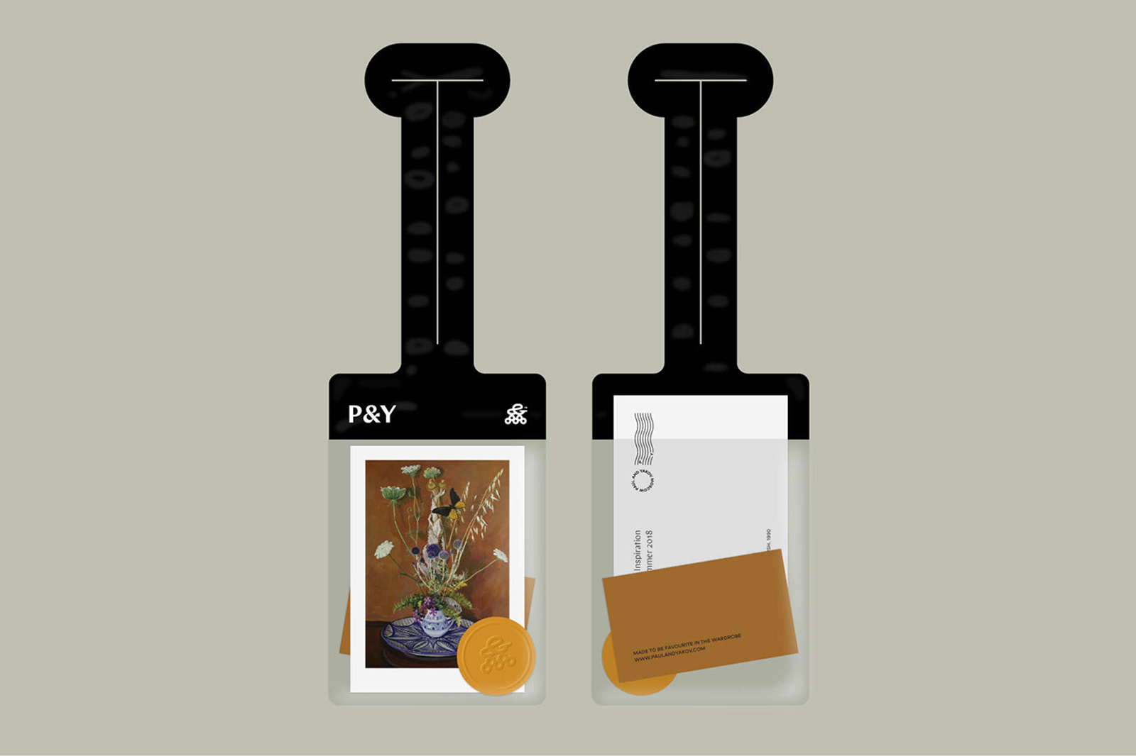 Paul & Yakov 时装品牌视觉VI形象设计欣赏-深圳VI设计15