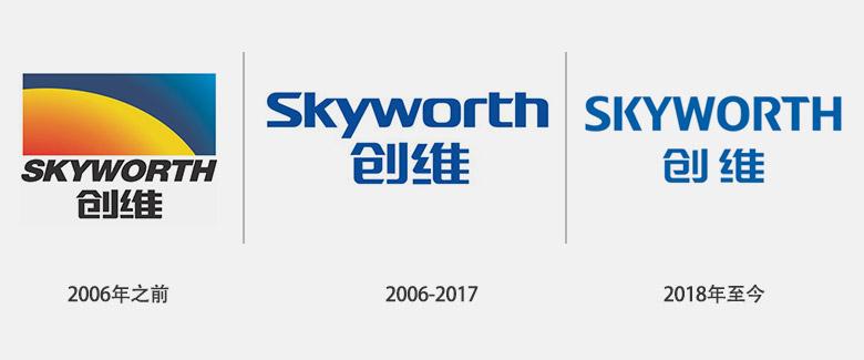 SKYWORTH创维集团启用全新品牌LOGO-深圳VI设计3