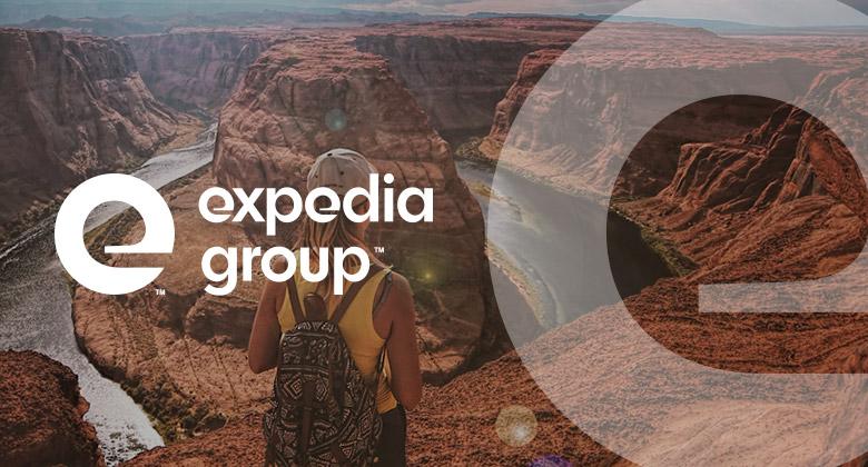 在线旅游品牌Expedia集团启动全新的品牌VI形象设计-深圳VI设计