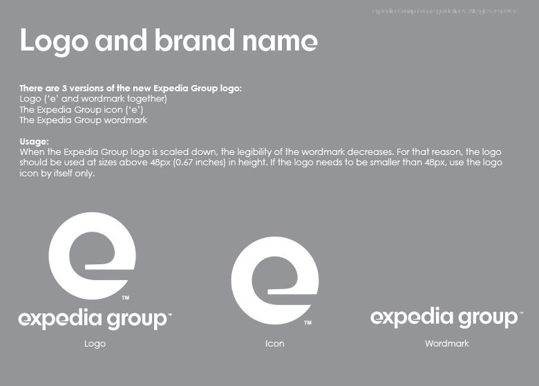 在线旅游品牌Expedia集团启动全新的品牌VI形象设计-深圳VI设计5