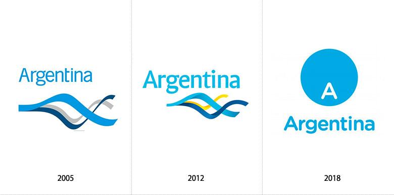 阿根廷推出全新的国家旅游品牌LOGO-深圳VI设计2