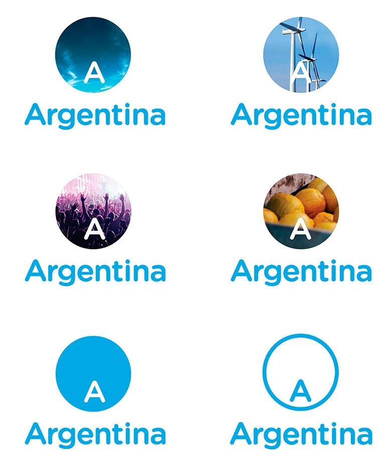 阿根廷推出全新的国家旅游品牌LOGO-深圳VI设计3