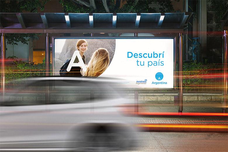 阿根廷推出全新的国家旅游品牌LOGO-深圳VI设计6