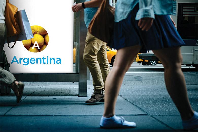 阿根廷推出全新的国家旅游品牌LOGO-深圳VI设计9