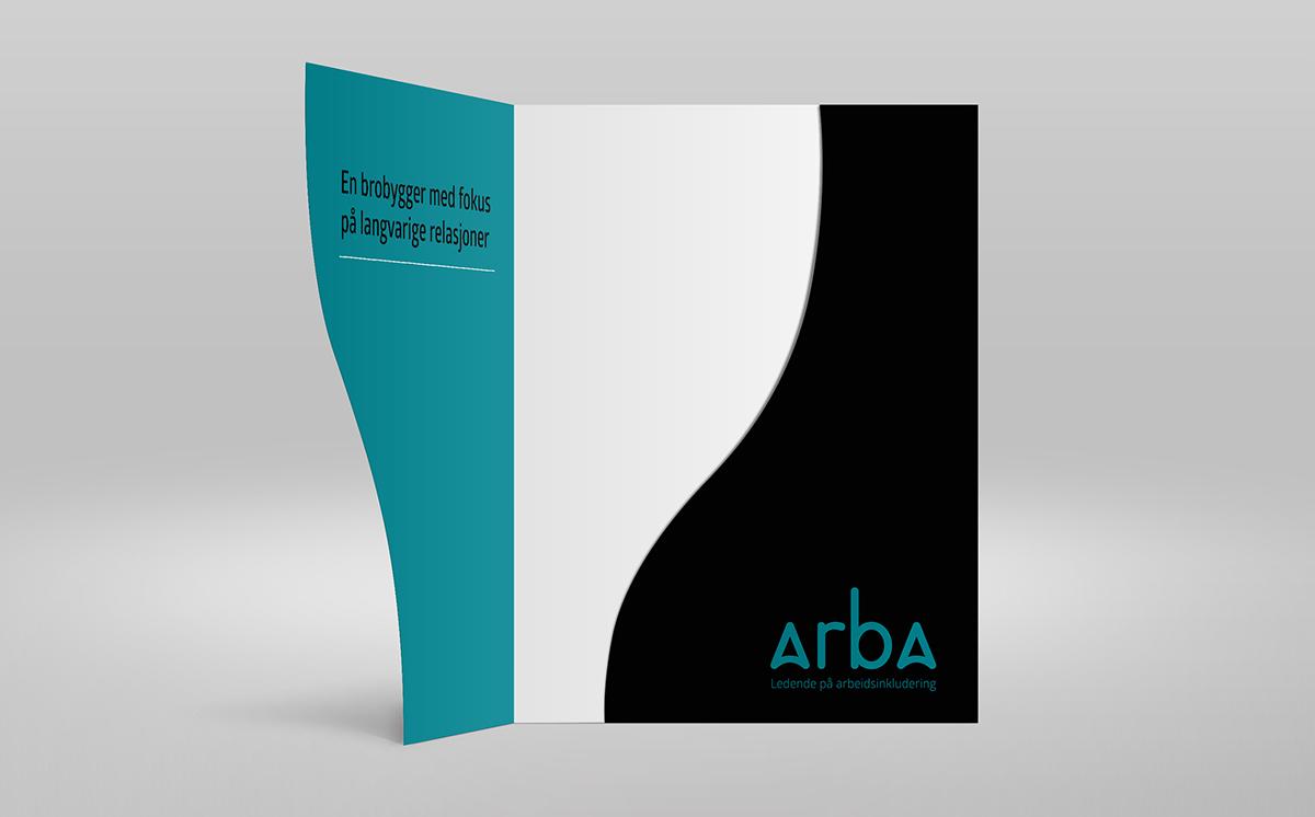 Arba Inkludering 品牌视觉VI形象设计形式-深圳VI设计6