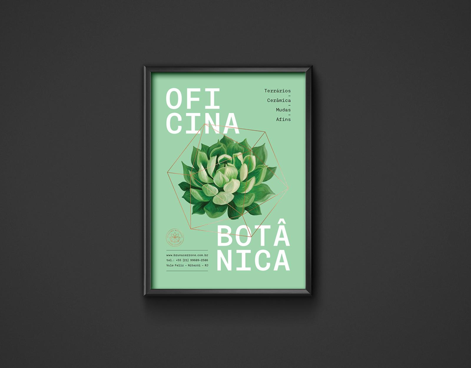 Oficina Botânica 品牌视觉VI设计欣赏-深圳VI设计11