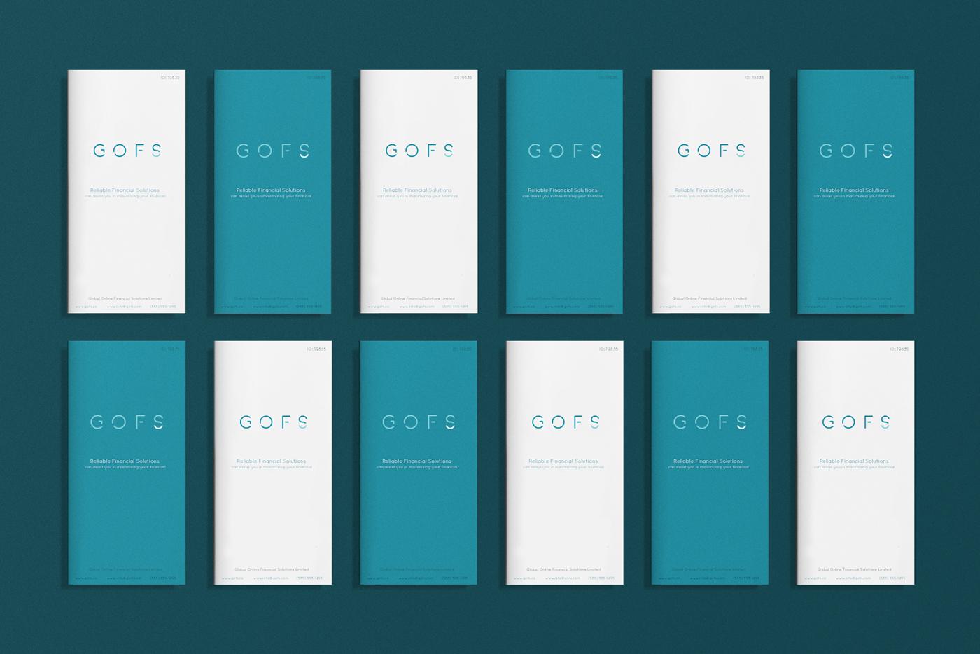 Global Online Financial 环球在线金融品牌视觉VI设计欣赏-VI设计公司9