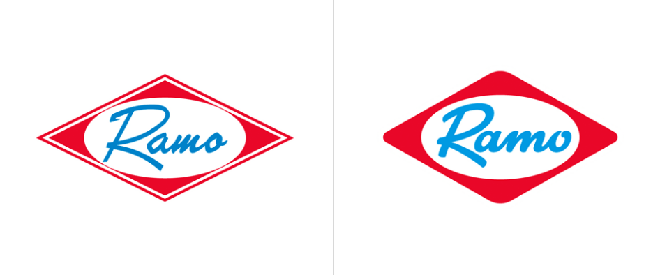 哥倫比亞Ramo食品品牌啟動全新的logo和包裝設計1