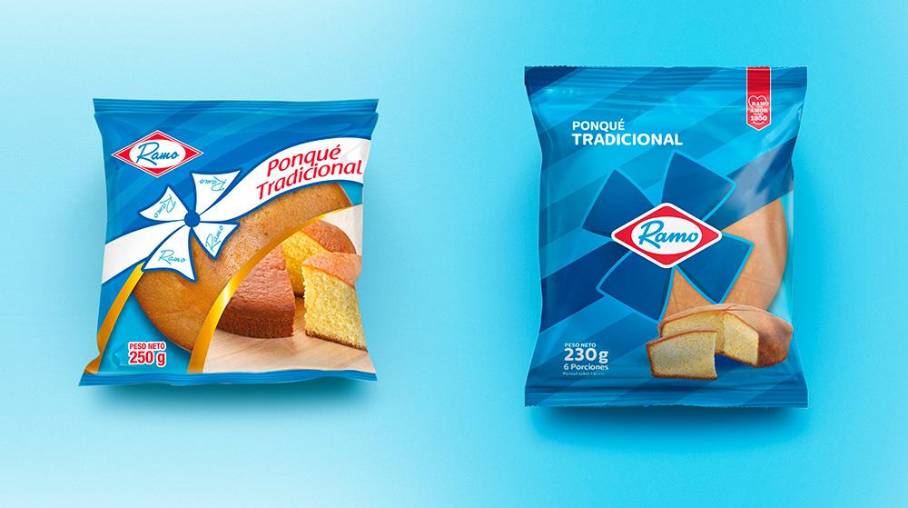 哥倫比亞Ramo食品品牌啟動全新的logo和包裝設計7