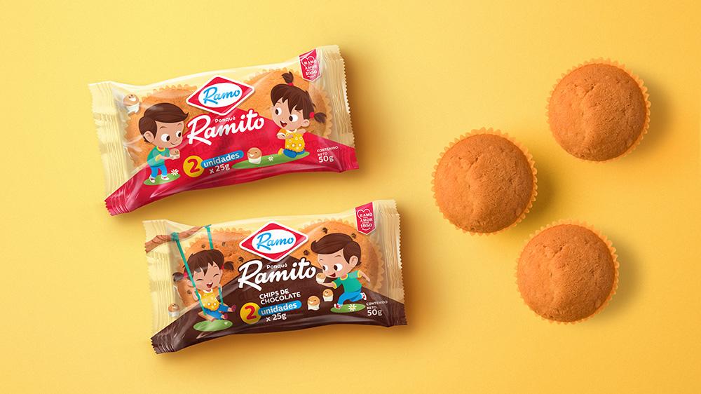 哥倫比亞Ramo食品品牌啟動全新的logo和包裝設計