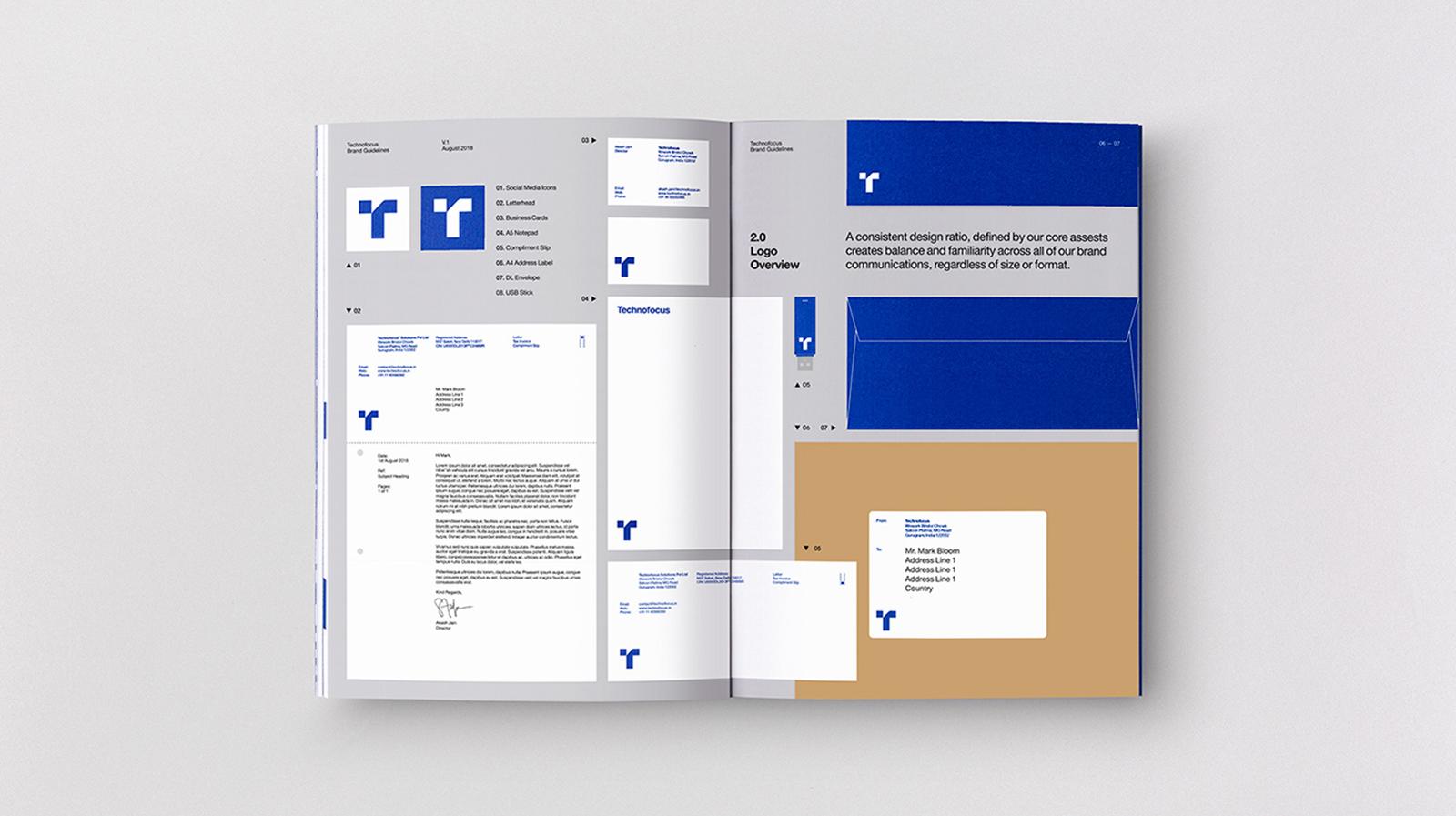 Technofocus 品牌logo形象及VI手冊設計欣賞-VI設計8