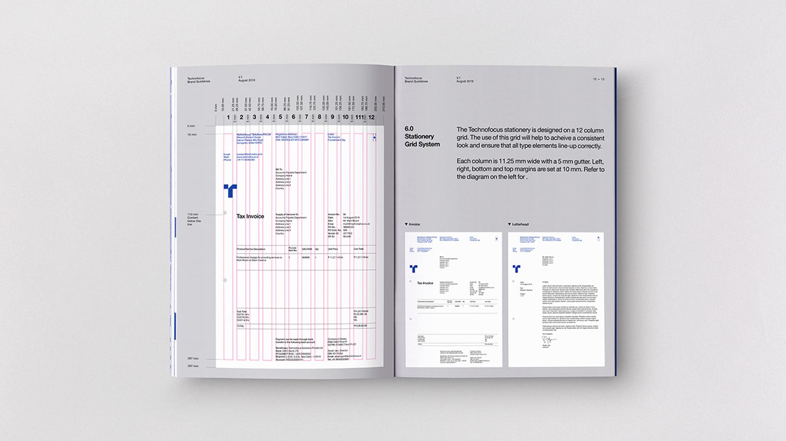 Technofocus 品牌logo形象及VI手冊設計欣賞-VI設計11