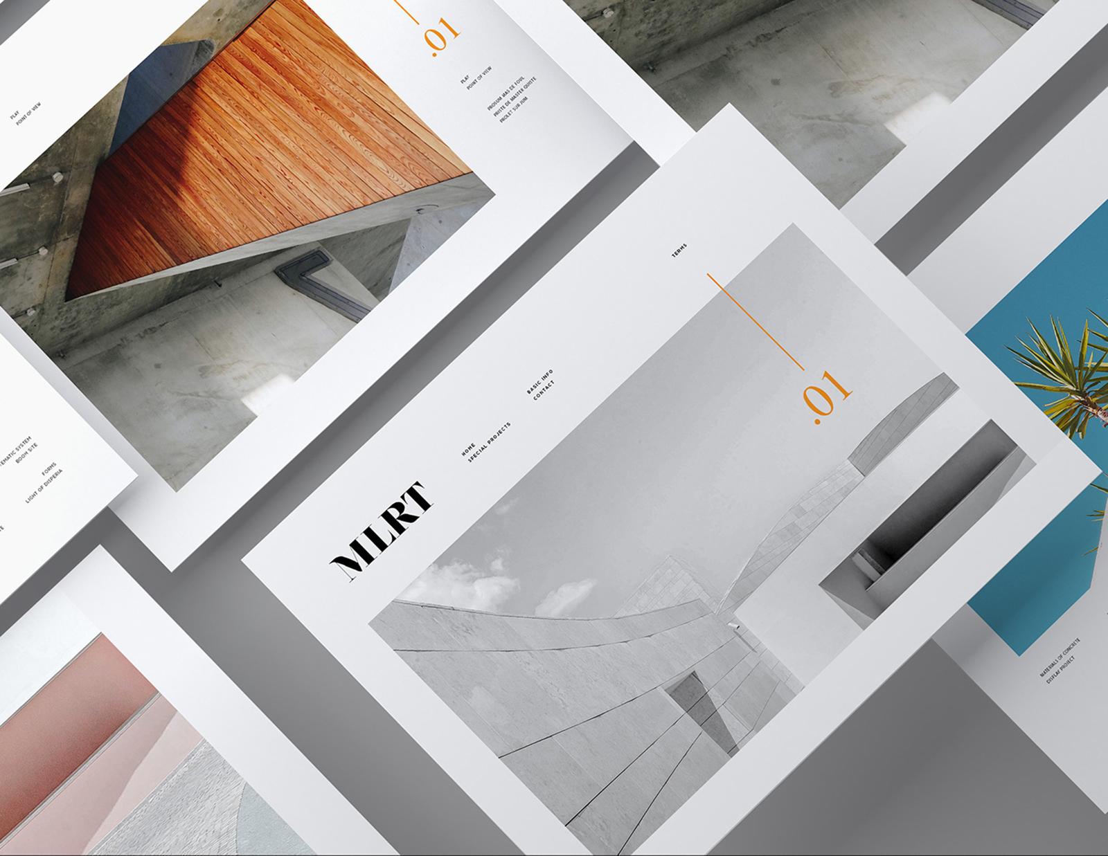 MLRT 企業品牌視覺VI形象設計欣賞-VI設計