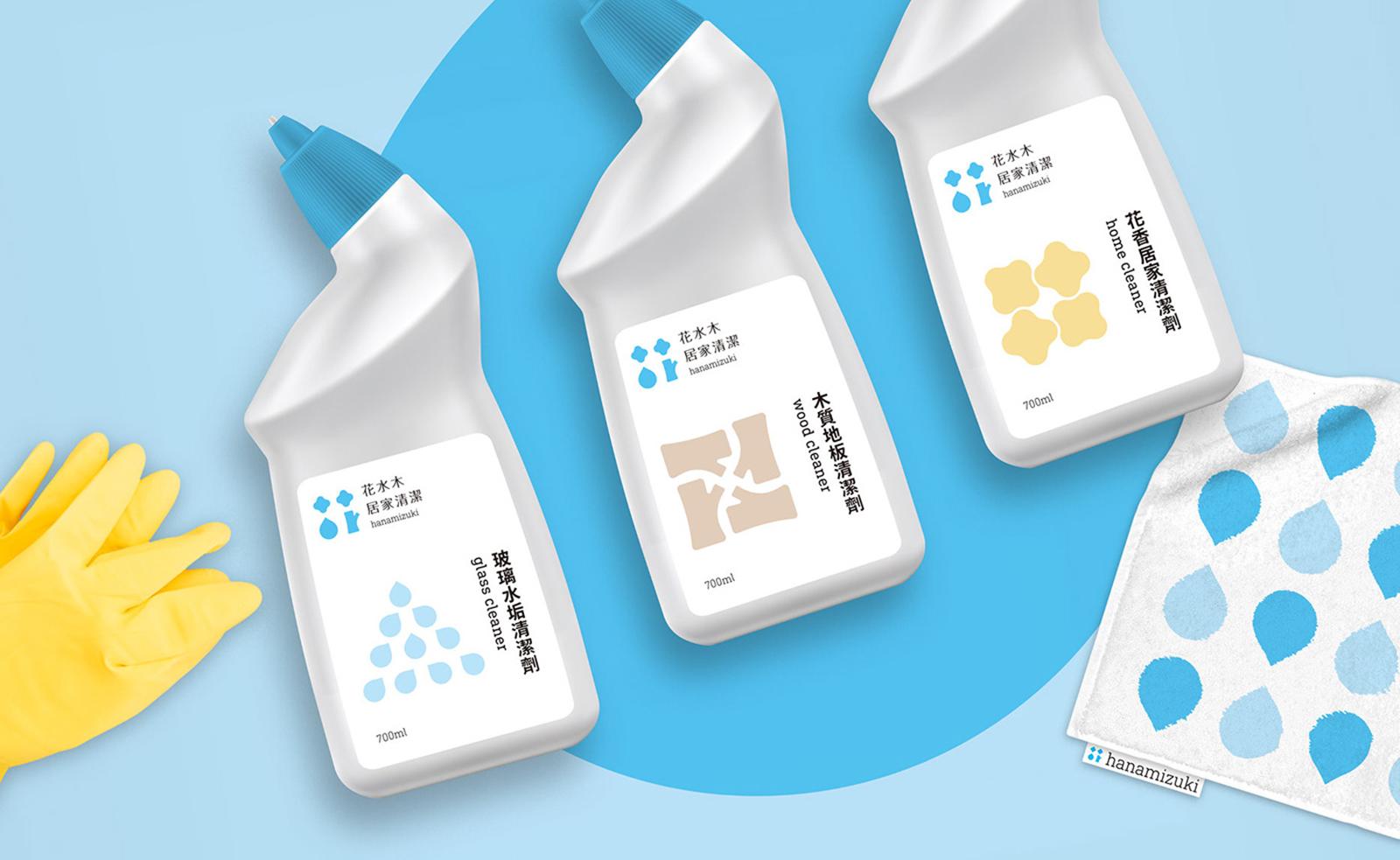 花水木居家清洁用品品牌形象设计欣赏-深圳VI设计13