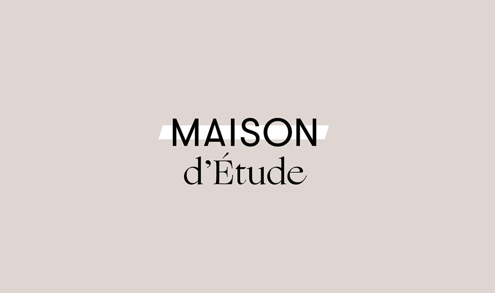 Maison d'Étude 时尚品牌形象设计欣赏-VI设计