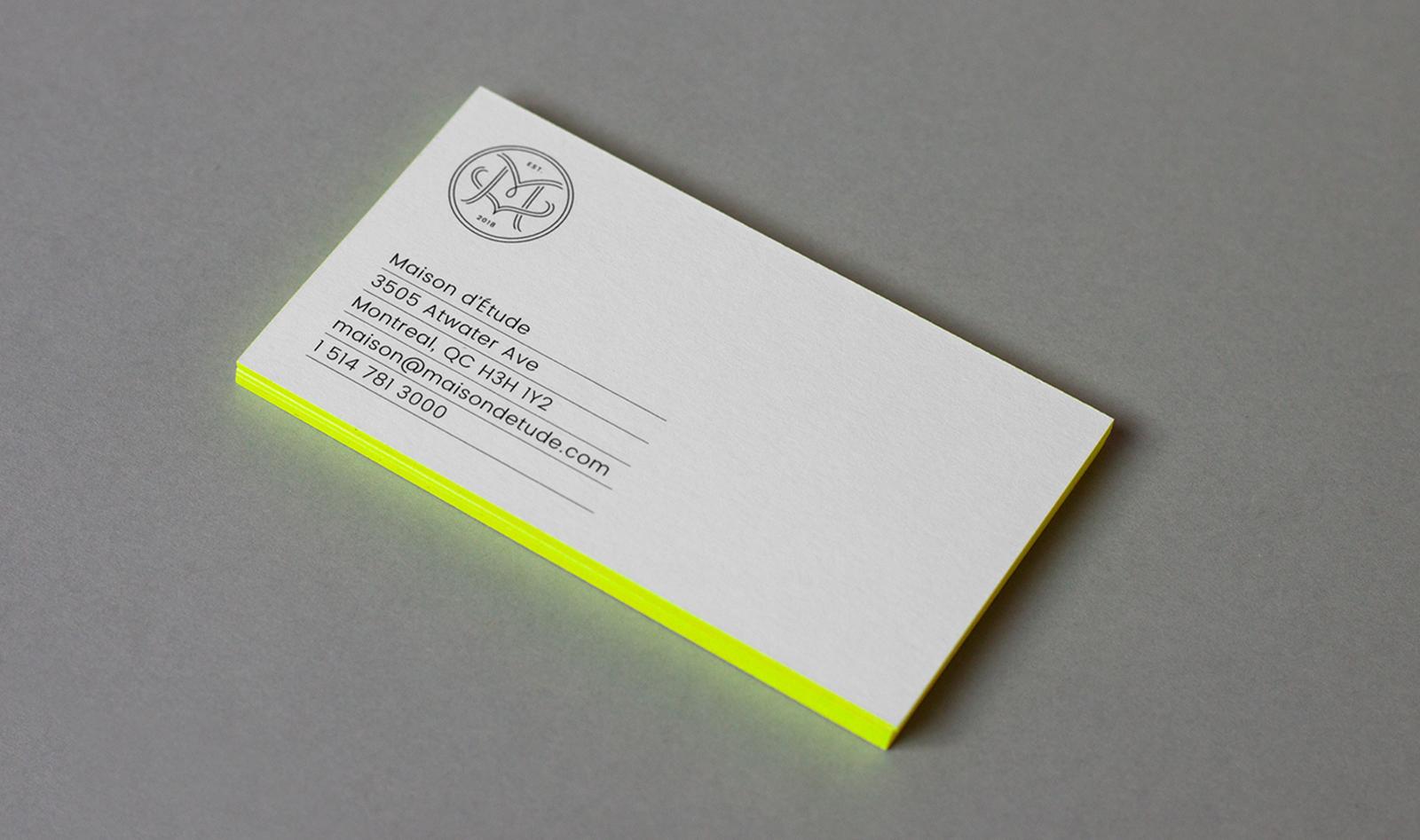 Maison d'Étude 时尚品牌形象设计欣赏-VI设计9