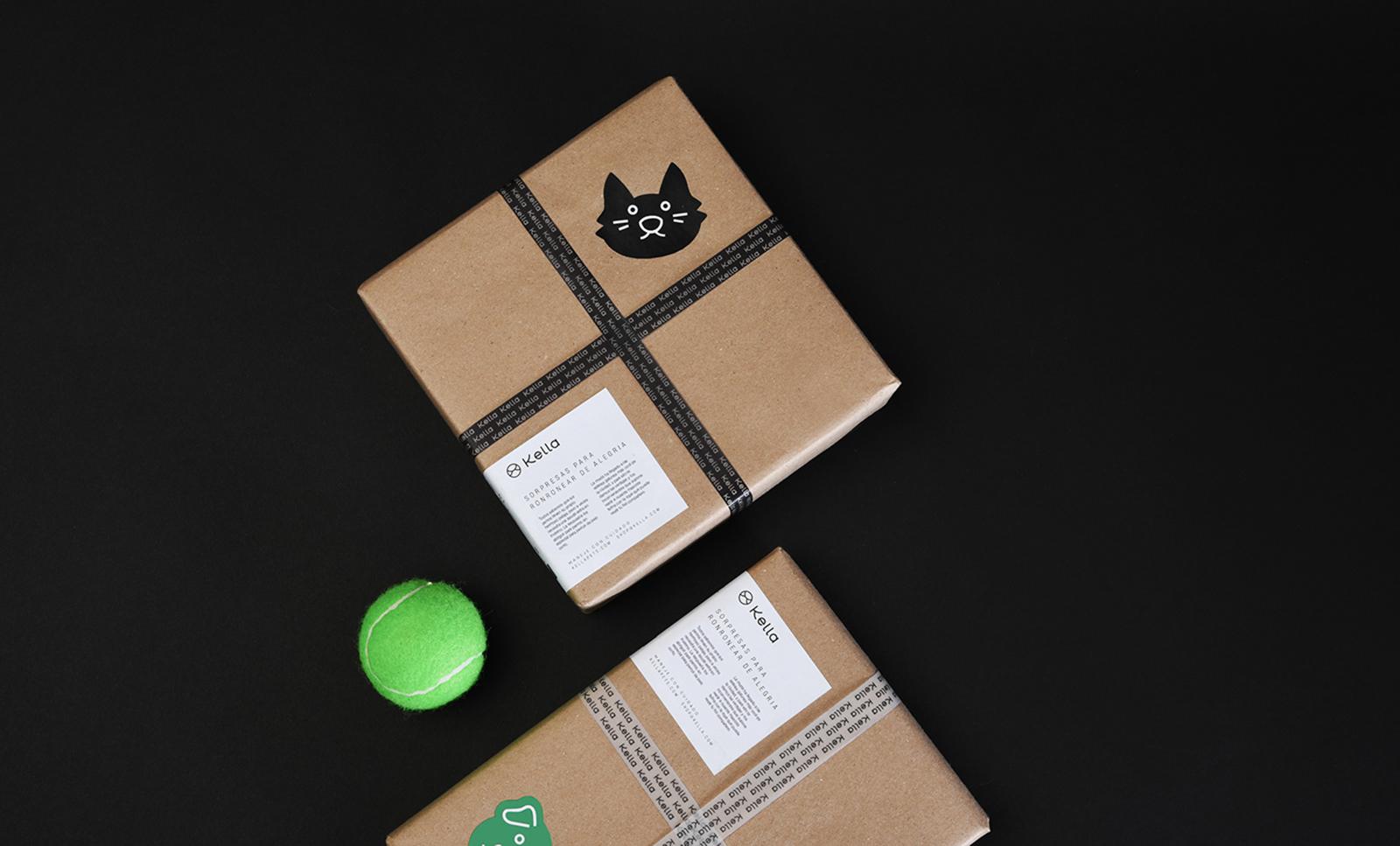 Kella宠物食品品牌视觉VI形象设计欣赏-深圳VI设计2