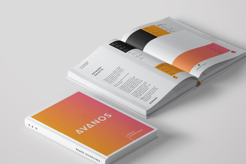 HALYARD品牌改名AVANOS,并启用全新的品牌形象设计-标志设计