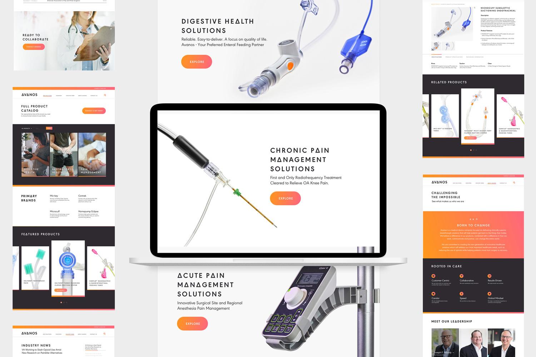 HALYARD品牌改名AVANOS,并启用全新的品牌形象设计-策划设计