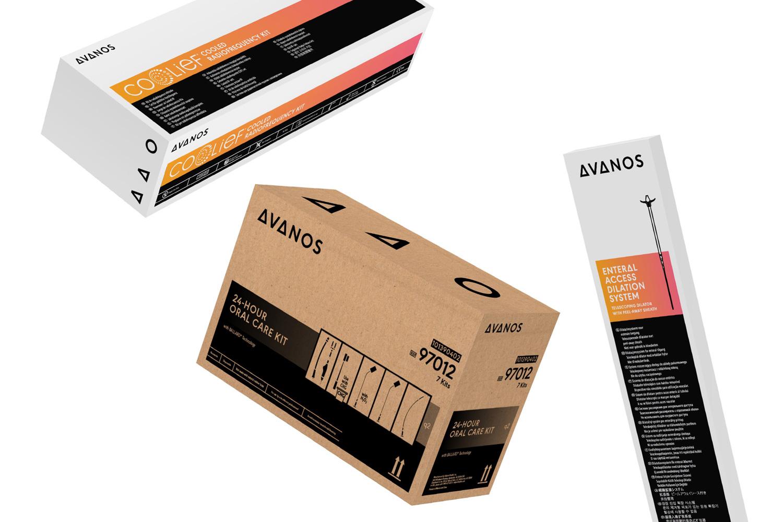 HALYARD品牌改名AVANOS,并启用全新的品牌形象设计-VI