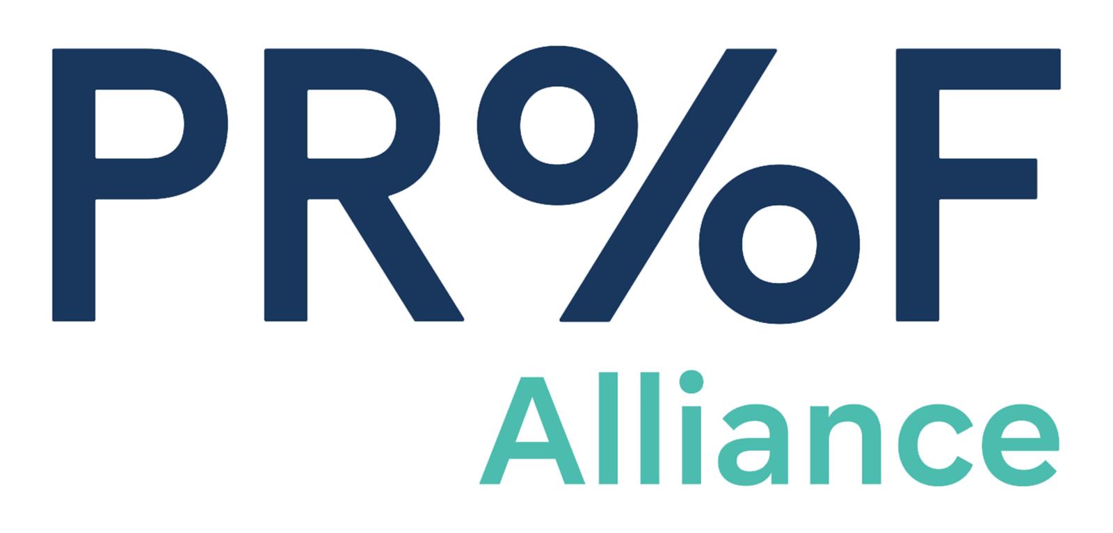 Proof Alliance 启用全新的品牌标志和VI形象设计