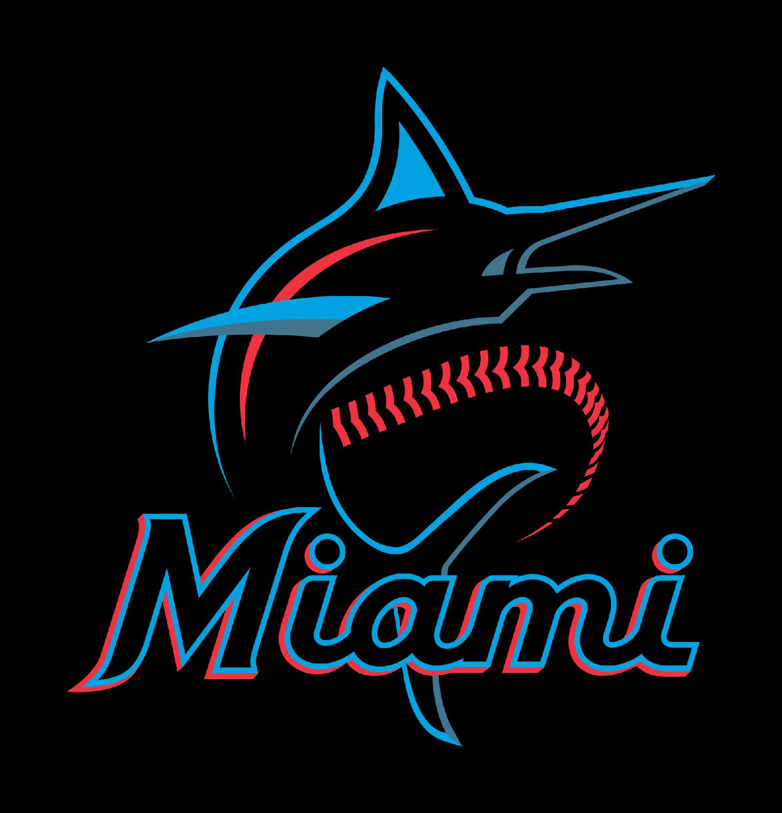 Miami Marlins迈哈密马林鱼棒球联盟启动新LOGO-VI设计2