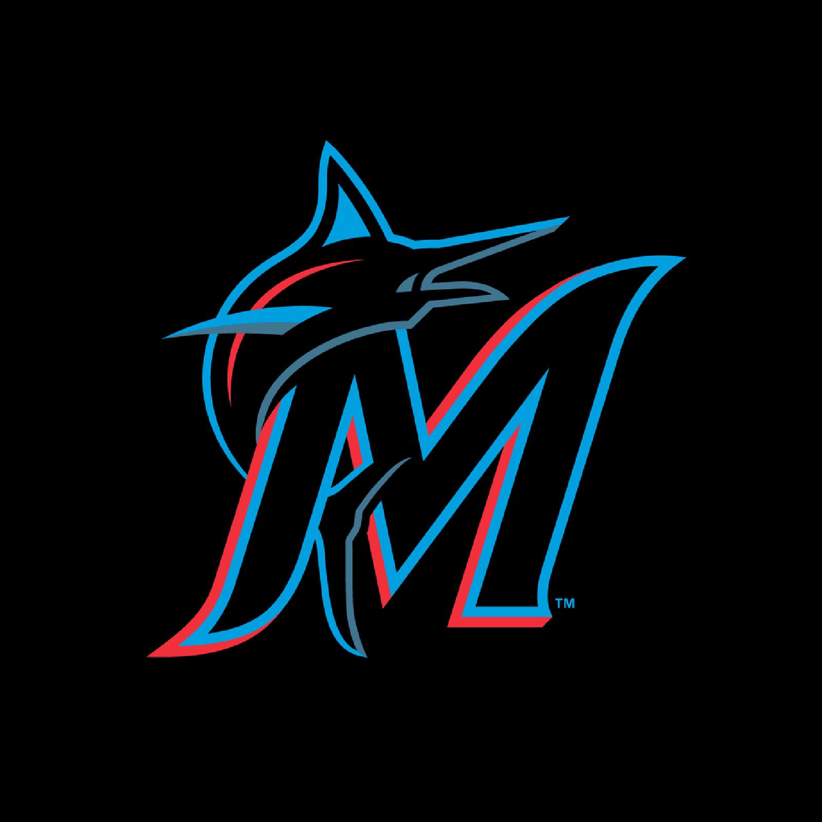 Miami Marlins迈哈密马林鱼棒球联盟启动新LOGO-VI设计3