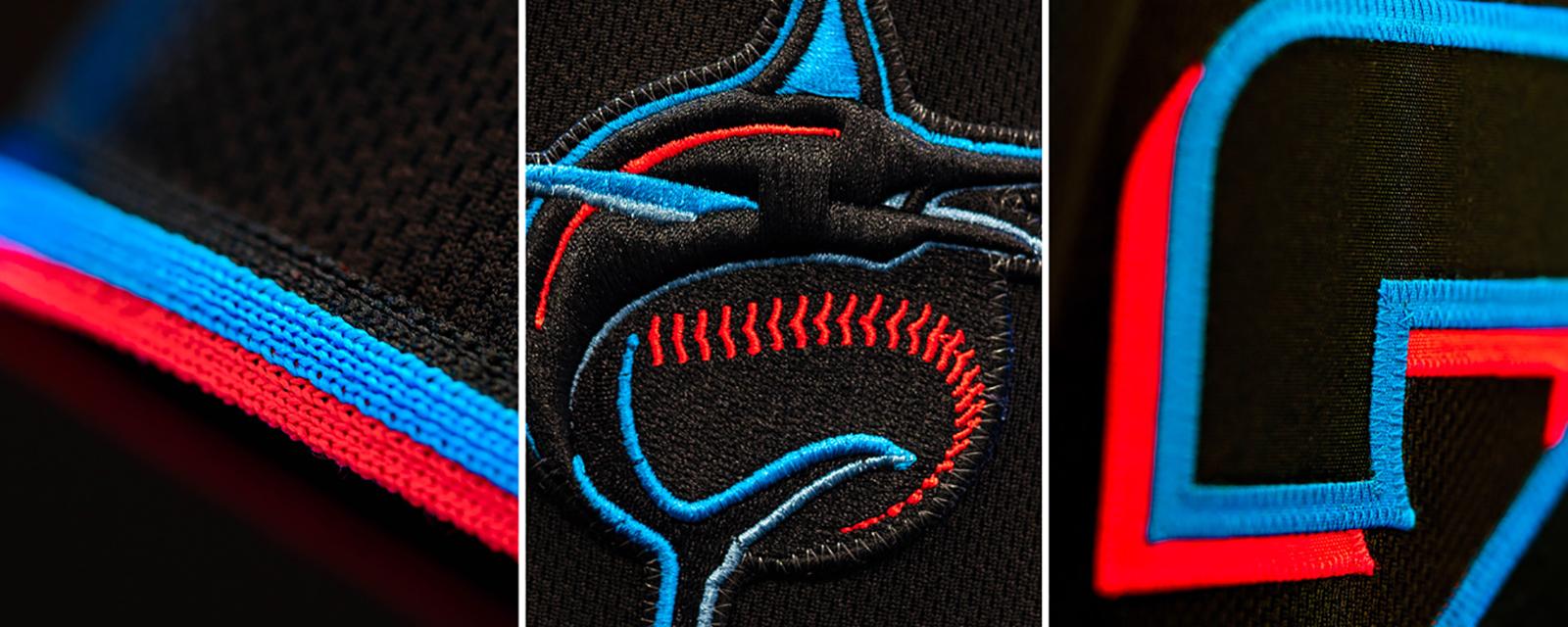 7Miami Marlins迈哈密马林鱼棒球联盟启动新LOGO-VI设计