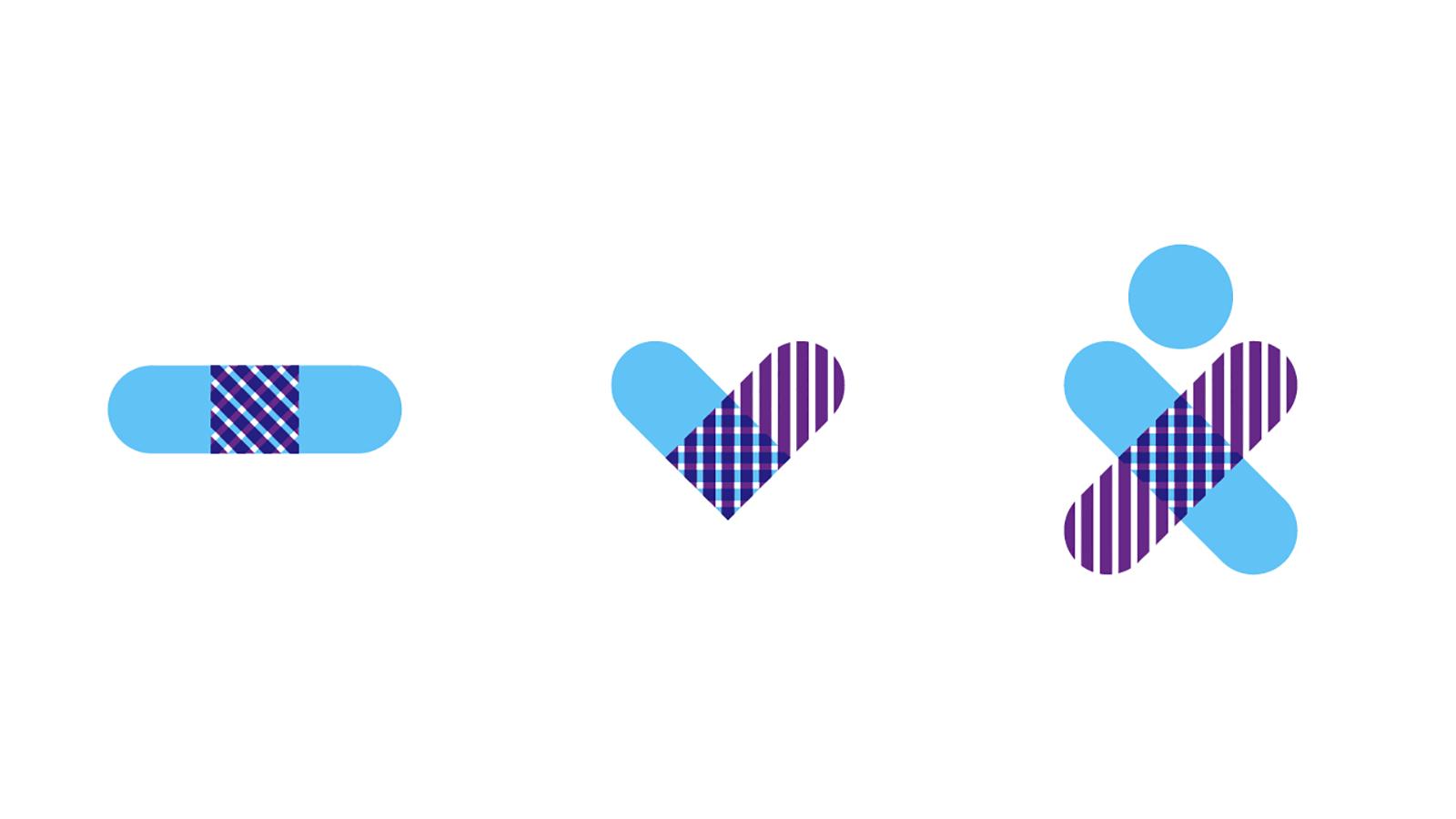 蒙特利爾兒童醫院基金會啟動新的logo和形象-VI設計1