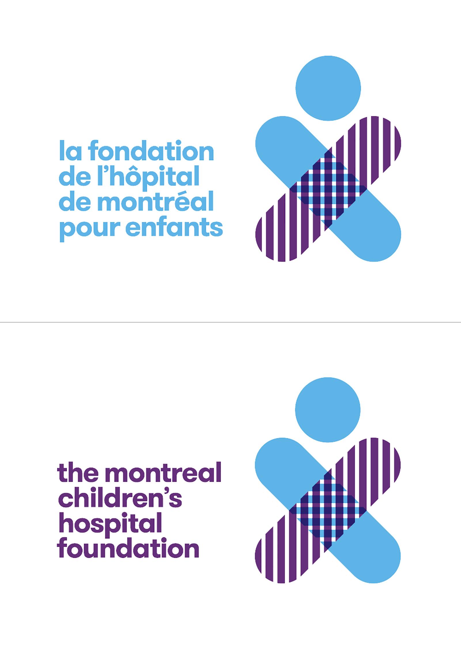 蒙特利爾兒童醫院基金會啟動新的logo和形象-VI設計2