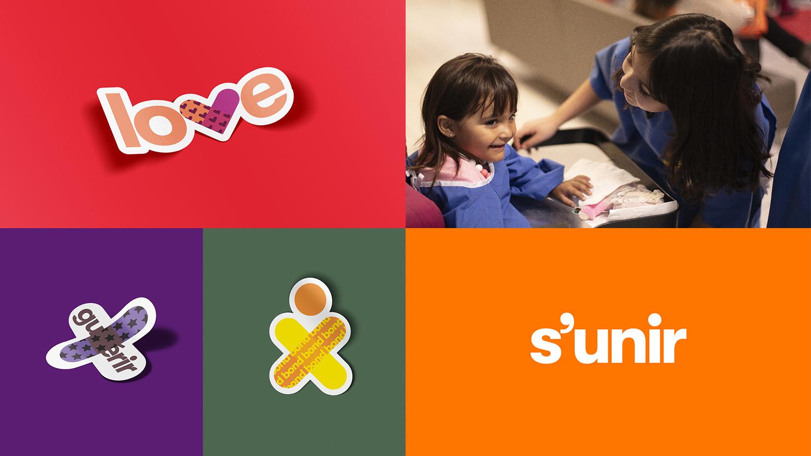 蒙特利爾兒童醫院基金會啟動新的logo和形象-VI設計5